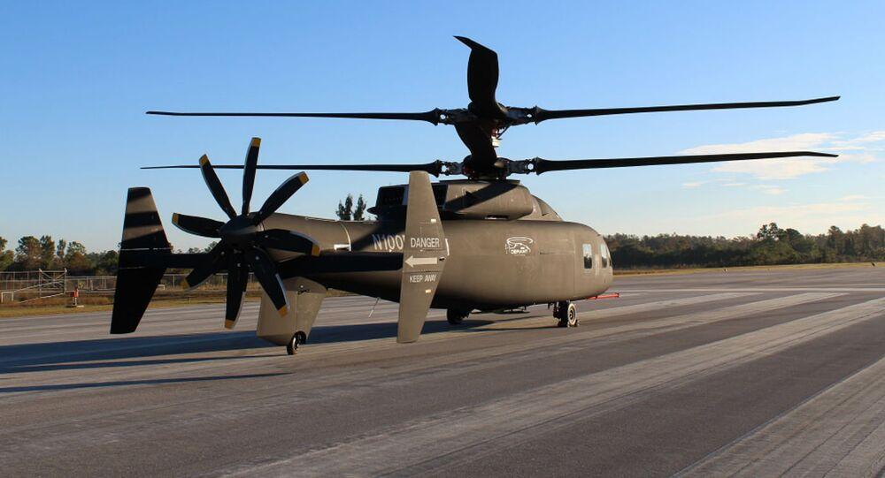 Novo helicóptero SB-1 DEFIANT™ norte-americano equipado com sistema avançado de rotor rígido
