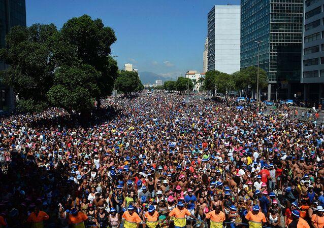 Rio de Janeiro deverá receber um milhão de turistas no Carnaval