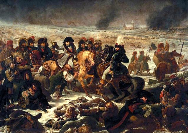 Napoléon à la bataille d'Eylau, de Antoine-Jean Gros (1808)