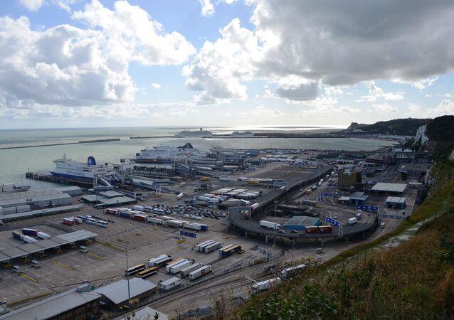 Porto de Dover, Inglaterra