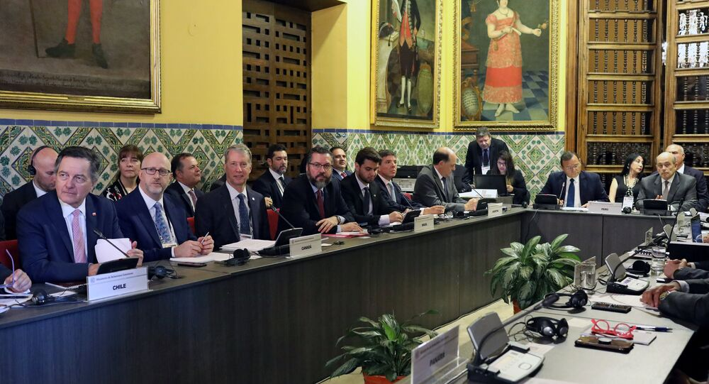 Cúpula do Grupo de Lima não reconheceu a legitimidade do novo mantado presidencial de Nicolás Maduro na Venezuela
