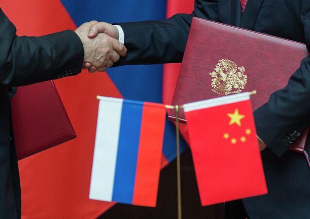 Vladimir Putin visita oficialmente a República Popular da China