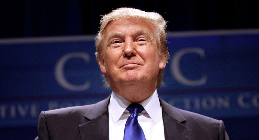 líder do Partido Republicano Donald Trump