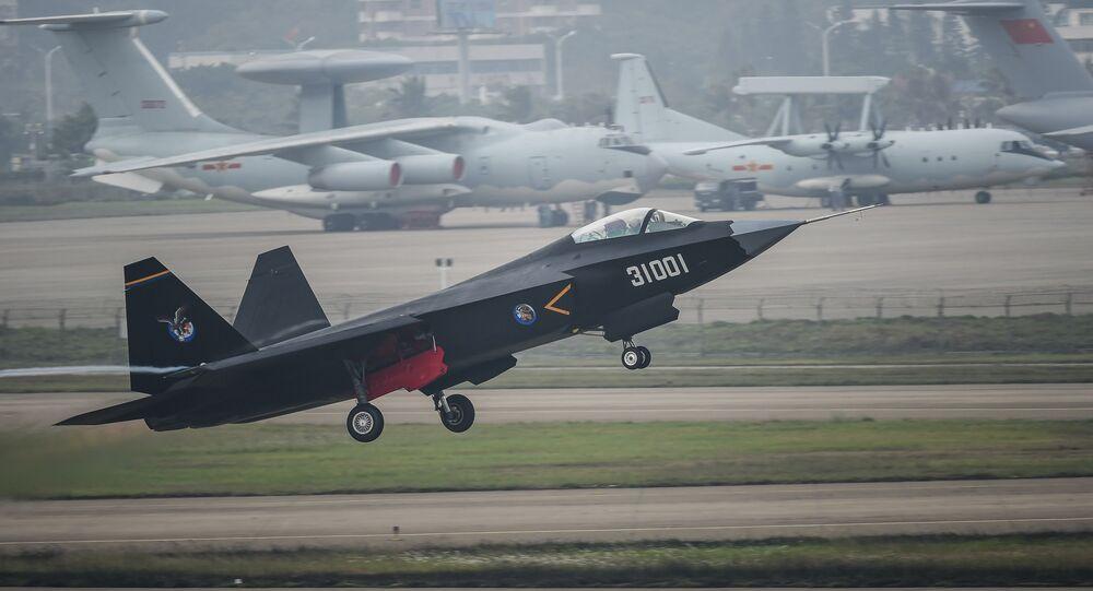 Caça chinês J-31