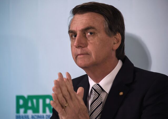 Jair Bolsonaro, candidato à Presidência do Brasil