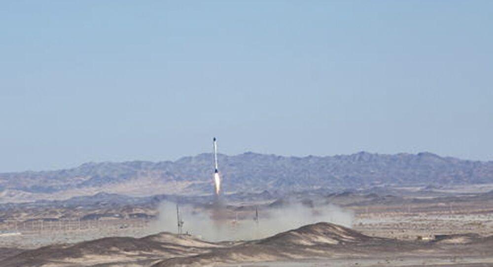 Lançamento do satélite da República Islâmica do Irã
