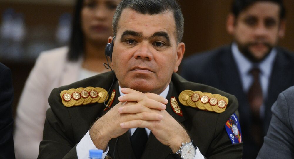 Vladimir Padrino López, ministro da Defesa da Venezuela (imagem de arquivo)
