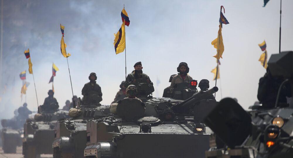 Militares das Forças Armadas da Venezuela