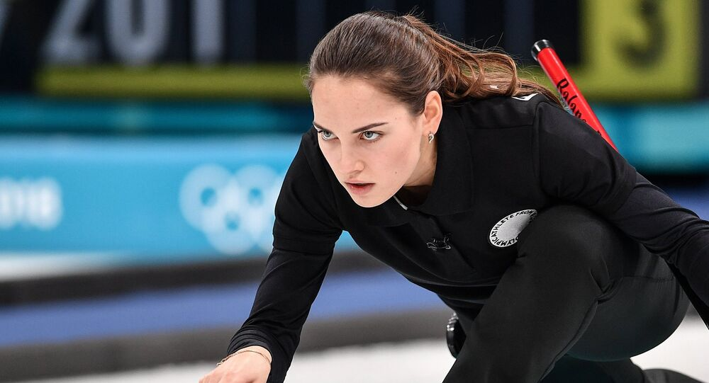 Anastasiya Bryzgalova, jugadora de curling rusa