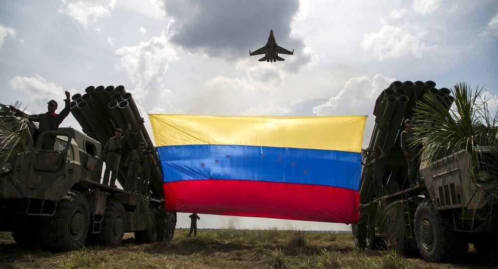 Militares da Força Armada Nacional da República Bolivariana da Venezuela (arquivo)
