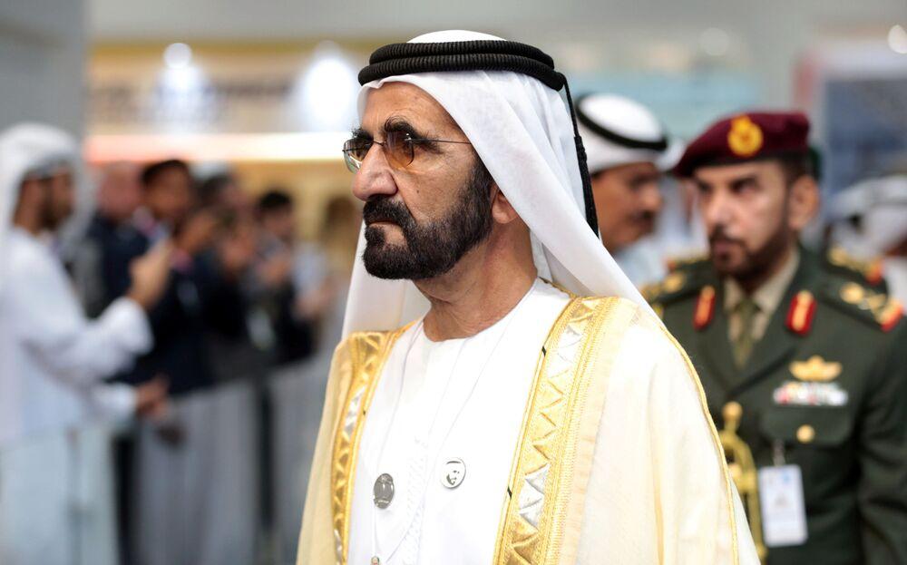 Xeique Mohammed bin Rashid al-Maktoum, primeiro-ministro e vice-presidente dos EAU