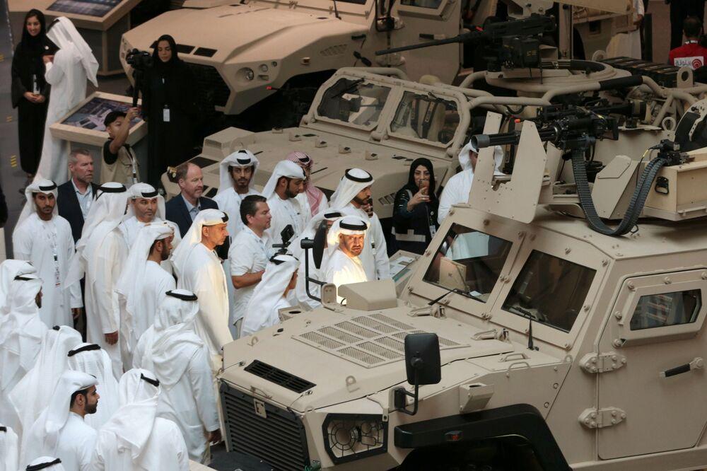 Príncipe herdeiro de Abu Dhabi, Mohammed bin Zayed Al-Nahyan