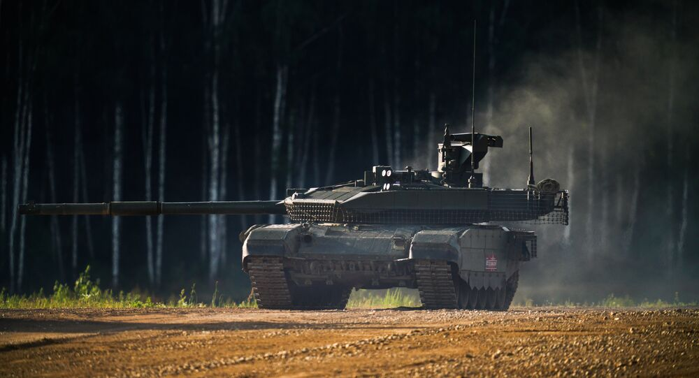 Tanque T-90M