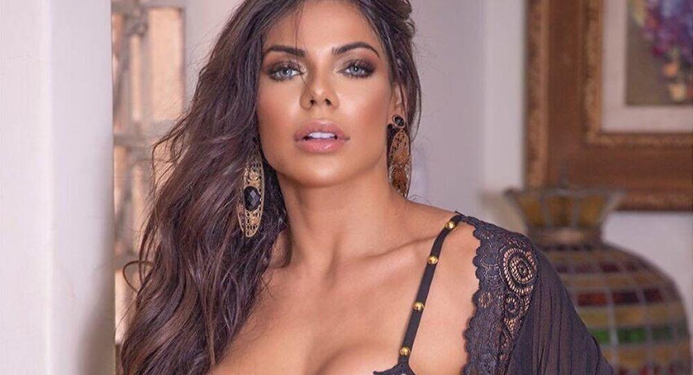 Suzy Cortez, modelo brasileira e Miss BumBum 2015