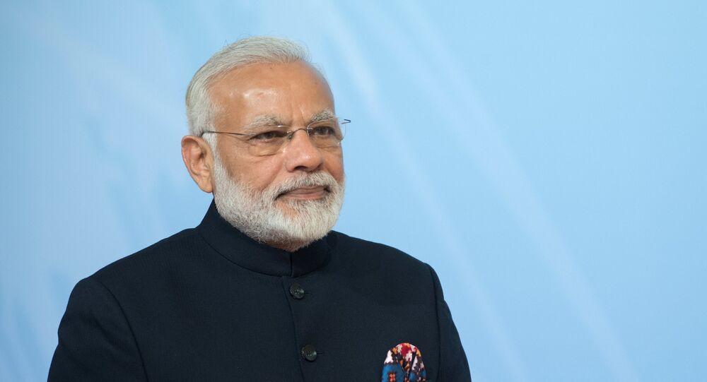Narendra Modi, premiê da Índia