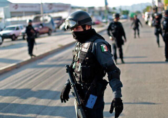 Policiais mexicanos (foto de arquivo)
