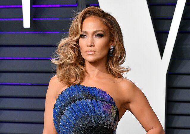 Jennifer Lopez, cantora e atriz estadunidense