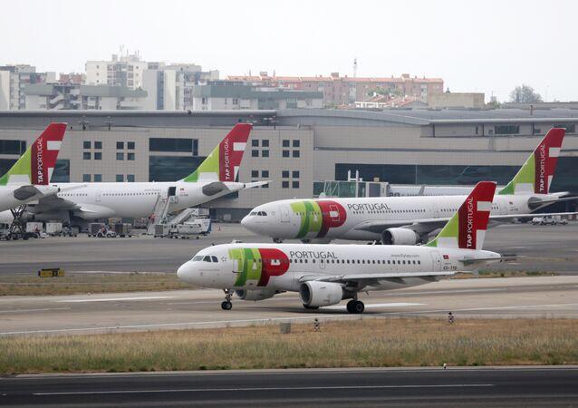 Aviões da TAP Air Portugal (foto de arquivo)