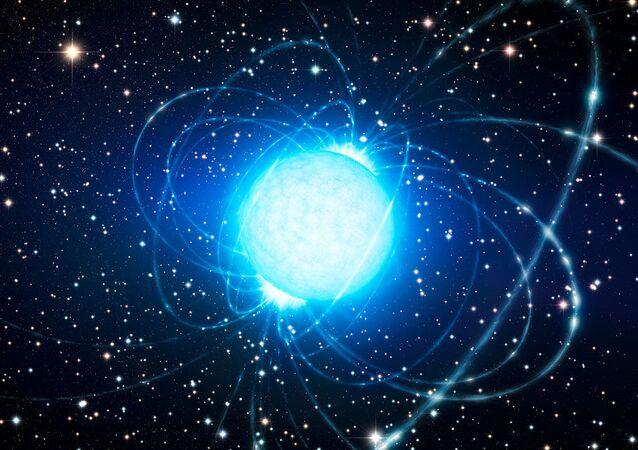 Magnetar (imagem ilustrativa)