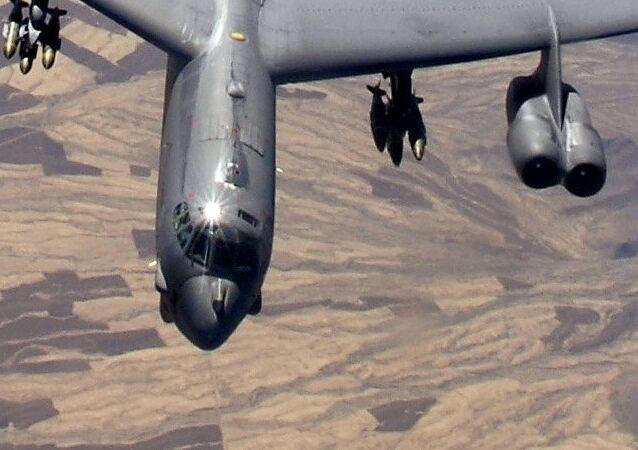 Bombardeiro B-52H da Força Aérea dos Estados Unidos (foto de arquivo)