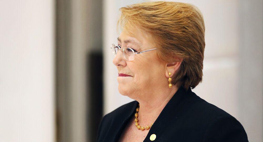 A alta comissária da ONU para os direitos humanos, Michelle Bachelet