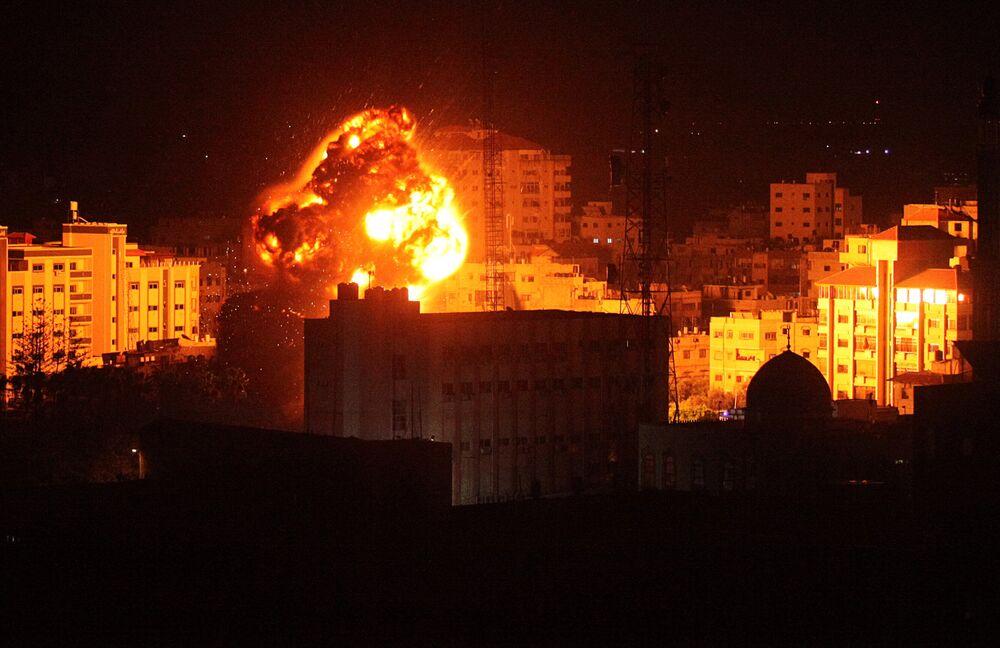 Ataque de Israel contra a cidade de Gaza