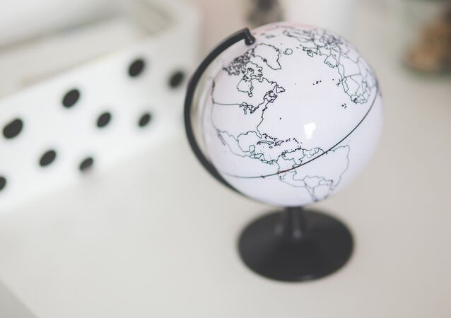 Um globo (imagen referencial)