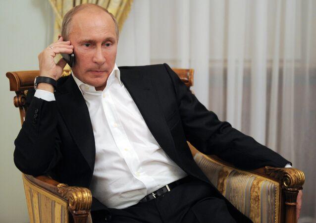 Vladimir Putin, presidente da Rússia