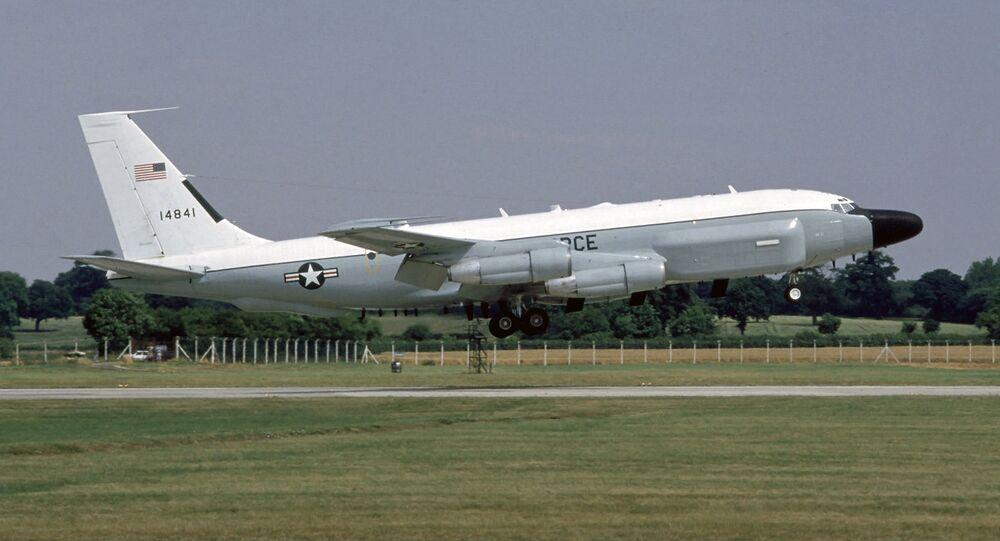 Boeing RC-135V norte-americano (imagem referencial)