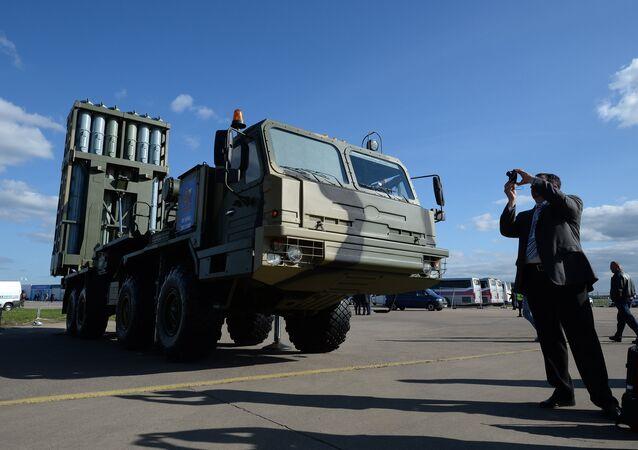 Sistema da defesa antiaérea S-350 Vityaz (foto de arquivo)