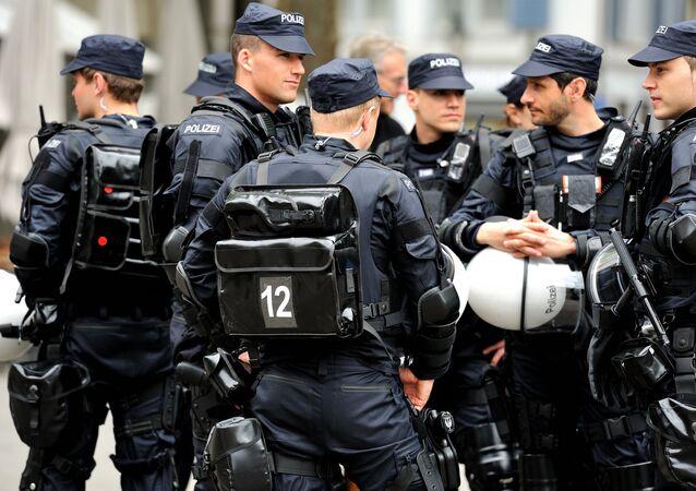 Polícia em Zurique