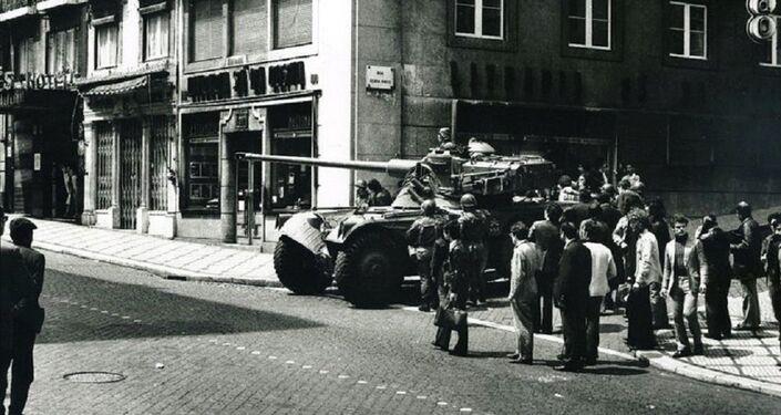 Tanque em Lisboa