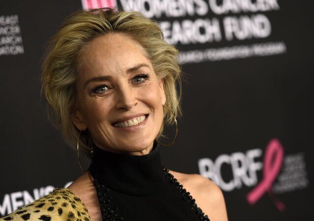 Sharon Stone, estrela do filme Instinto Selvagem