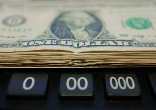 Notas de dólar americano