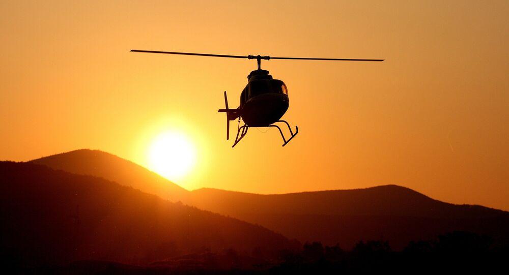Helicóptero Bell 206 (imagem referencial)