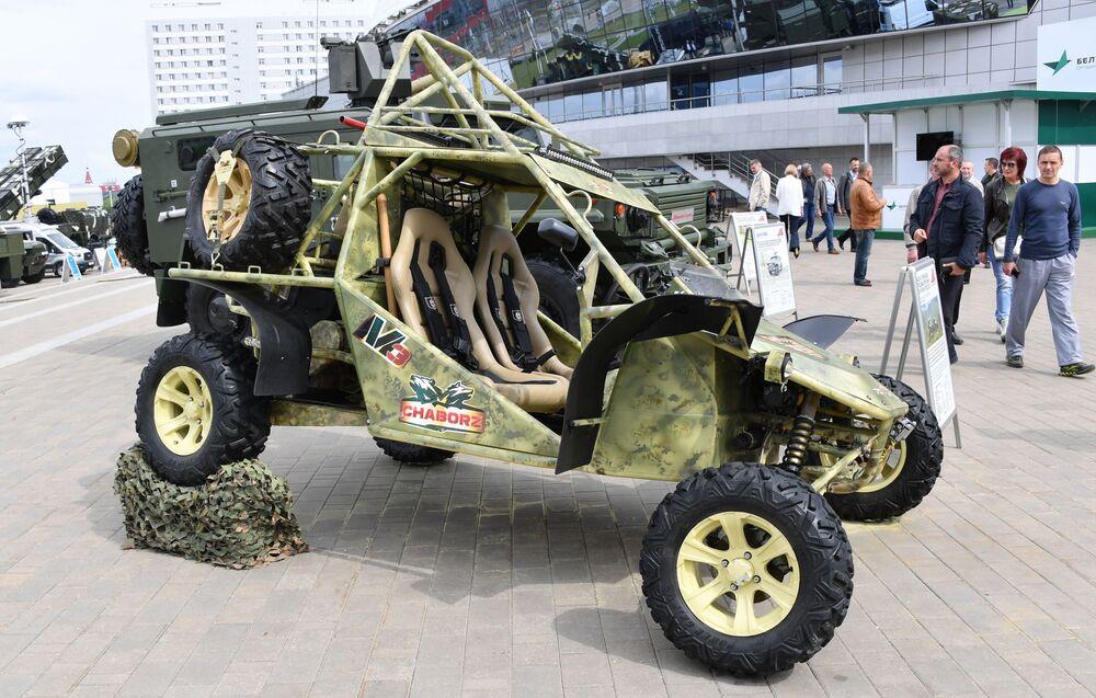 Buggy Chabroz M-3 na exposição internacional de armamento e equipamento militar MILEX 2019, em Minsk