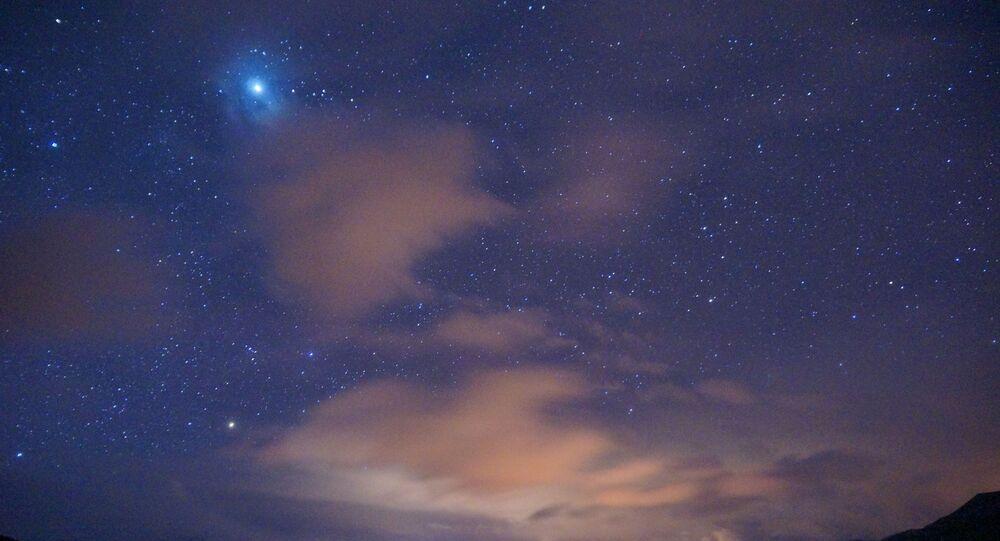 Céu noturno (imagem referencial)