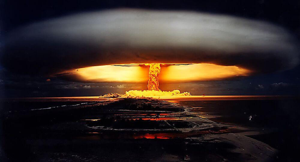 Teste nuclear Licorne - Polinésia Francesa, 1970