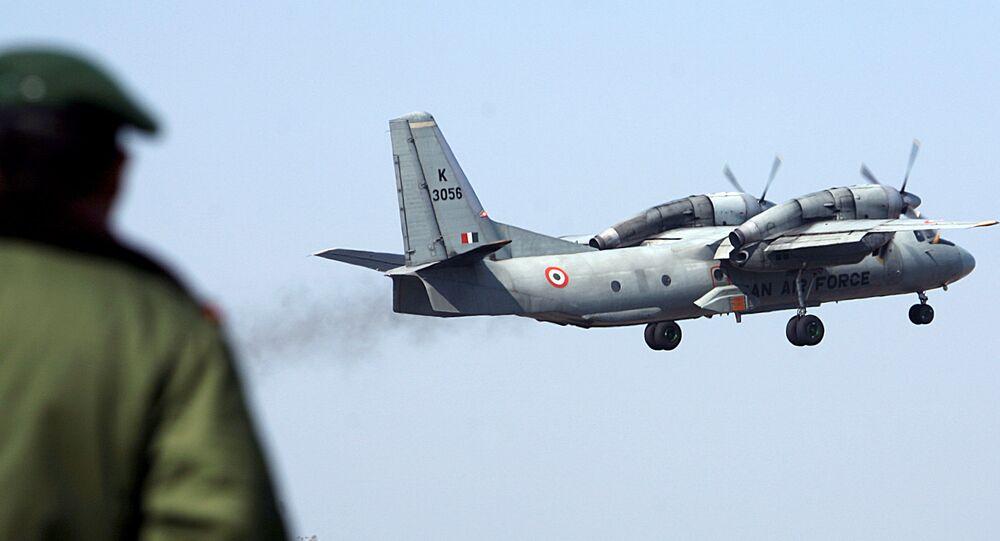 Avião de tranporte da Força Aérea Indiana, AN-32