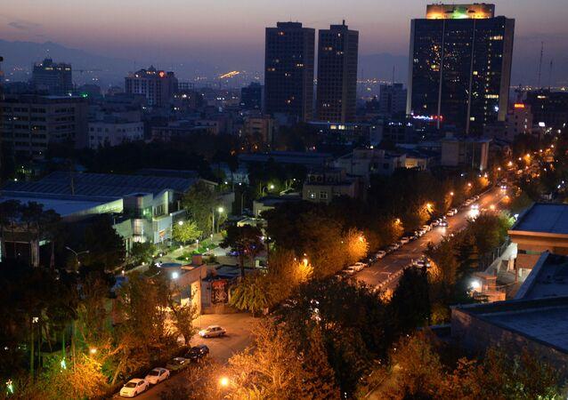 Teerã, capital do Irã (arquivo)