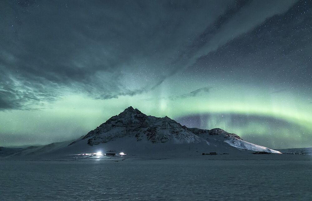 Polar do fotógrafo chinês Xiuquan Zhang tirada na Islândia