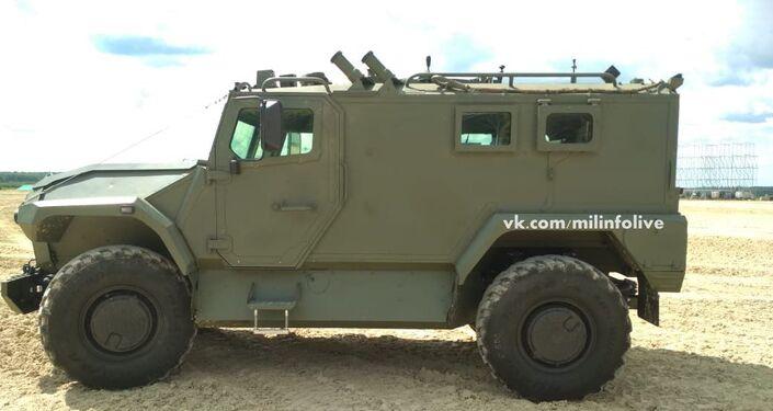 Tigr Next, veículo blindado off-road da Rússia