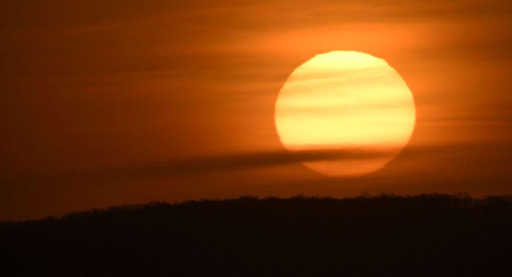 Nascer do Sol (imagem referencial)