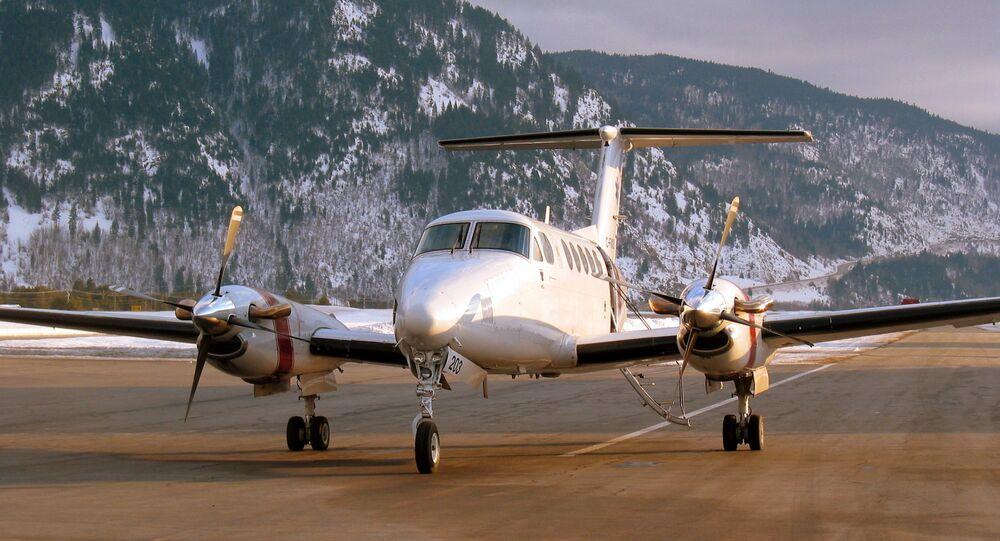 Avião King Air 200 (imagem de arquivo)