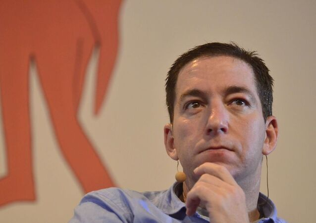 Jornalista americano Glenn Greenwald, do site The Intercept Brasil