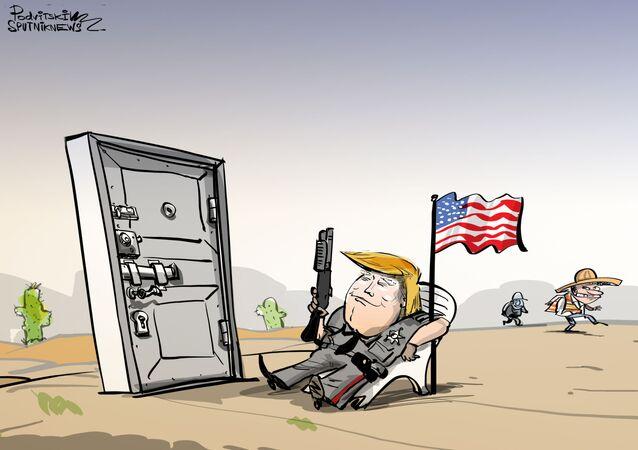 Há rasgões demais no muro de Trump