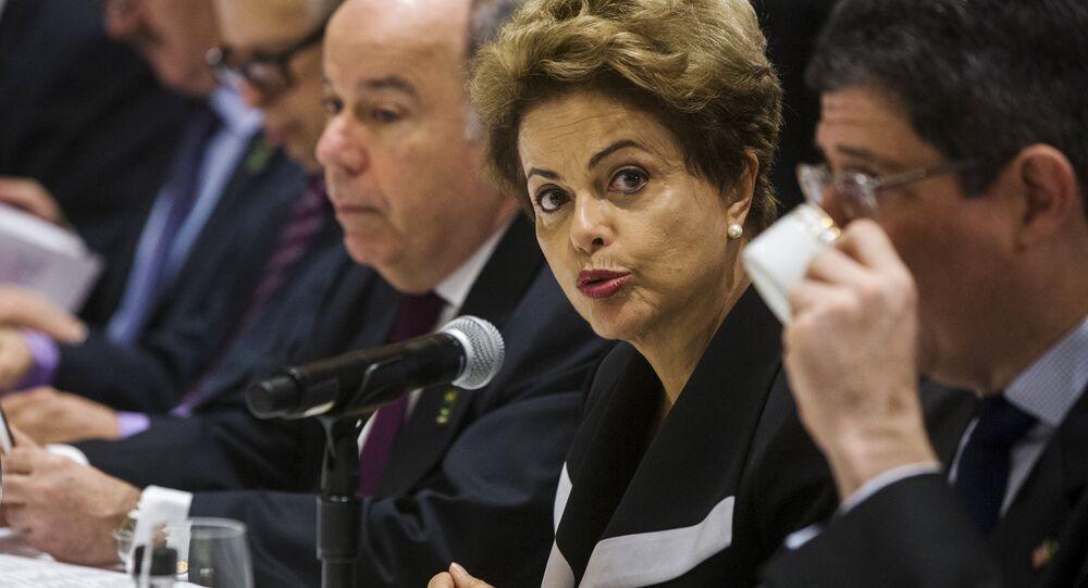 Dilma Rousseff, presidenta de Brasil, en Nueva York, EEUU, el 29 de junio, 2015