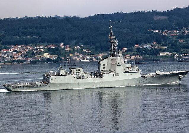 Fragata da Marinha da Espanha Mendez Núñez