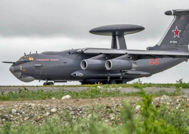 Aeronave russa de alerta e vigilância de longo alcance A-100