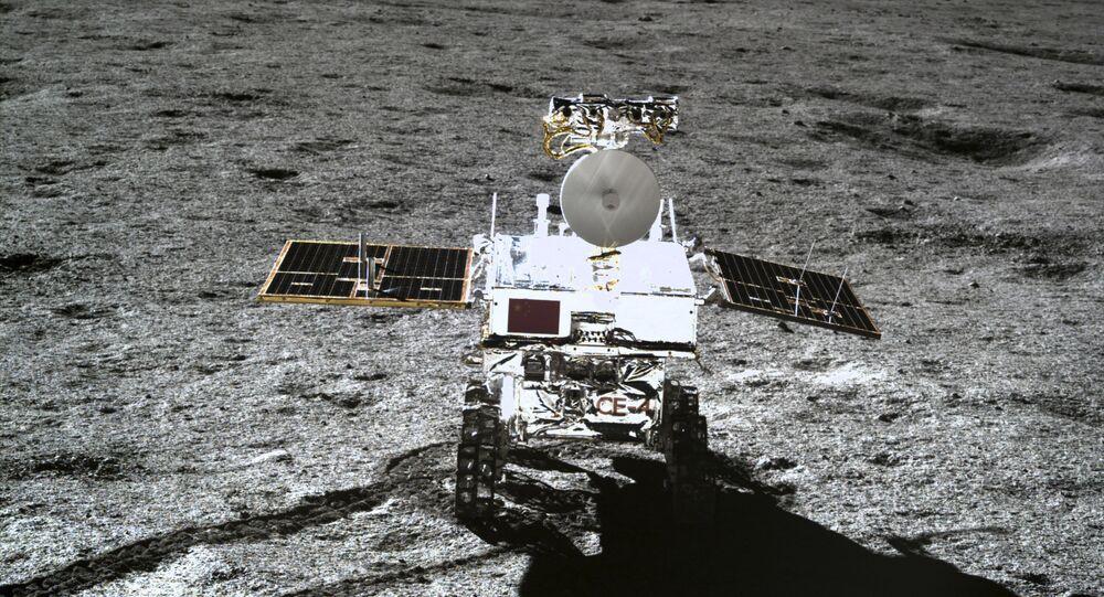 Rover planetário chinês Yutu-2